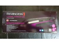Remington Ceramic Straightener 230 - Used once, in original box, all there