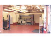 Storage Warehouse Factory to rent Liverpool L7 Near McDonalds 112.Sq Meters Shutters Alarm Secure