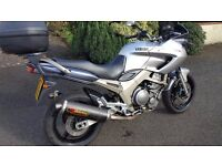 Yamaha TDM 900: MOT to June 17. Excellent condition complete with top box.