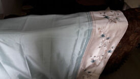 Pair of Dunelm curtains for sale – never used