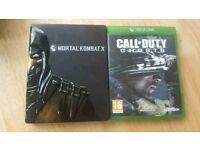 Mortal kombat X Call of Duty Ghost Xbox One