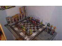 Marvel Chess Set High Quality 44 Figurines