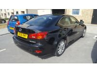 Lexus is220d with full service history,leather,MOT-04/19,AirCon,electrice heather memory seat, VGC