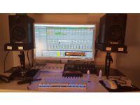 M-AUDIO BX 5 NEARFIELD STUDIO MONITORS