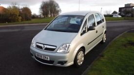 Vauxhall Meriva 1.4i 16v 2009 Life,Only 33,000mls,Air Con,Electric Windows,Remote Central Locking