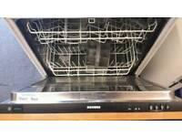 Dishwasher siemens integrated 60cm