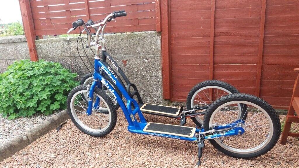 Adult / teenager Scooter Kickbike 20 inch wheels  Blue  Bargain  | in  Dundee | Gumtree