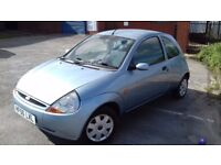 Ford KA 2006 manual 1.3 petrol low mileage