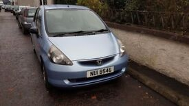 Honda Jazz 1.4 / 2004 / Blue / 97000 Miles