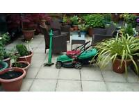 Qualcast mower and strimmer both full working order