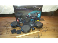 Electronic Drum Kit - complete with pedals and sticks