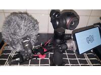 DJI Osmo 4K 3 Axis Camera Fully Loaded Ready To Go