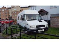 Converted camper van ivico daily 2.5 diesel