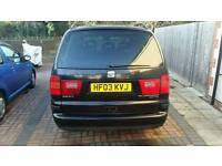 Seat Alhambra 1.9 TDI 7-seater with Full History , 12 Months MOT £985