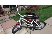 Hello kitty 16inc wheel bike