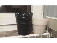Plant pots different sizes