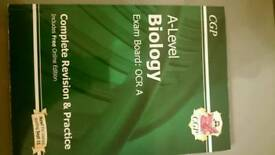 A level biology CGP revision guide new spec.