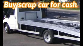 Buy scrap car or van for cars and collection leads