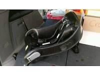 Baby car seat cradle