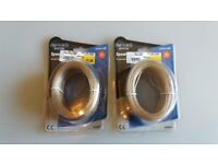 Speaker Cable x 2 - 25 metres - New Condition