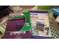 Photo Ink Jet Paper, A4 A2, A3 plus Copier Labels etc