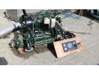 Lister Petter marine inboard diesel engine, 40hp, 800 hours use, removed due needing lighter engine