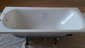 Steel Anti Slip Bath (2TH) Unused 1500 x 700mm