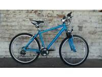 Almost new mountain bike used twice
