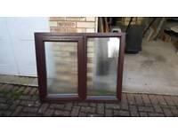 Free - Obscured glass pvc window