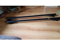 Vauxhall zafira roof bars fitted but unused