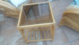 Cane Furniture 6 piece set