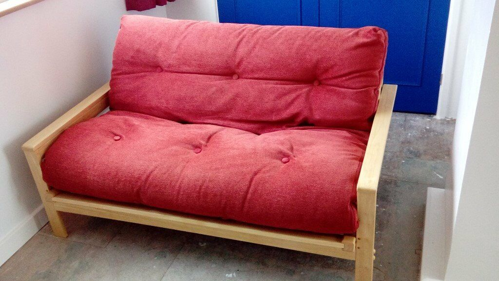 Second Hand Boushka Futon Sofa Bed 5 Wide By 6 Long In