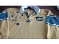 Australian rugby union shirta