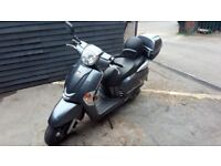 Scooter Kymco Like 125cc mint condition only 3800miles year 2011