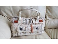 Amazing authentic vintage bag white and silver - CHRISTIAN DIOR
