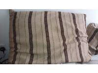 2 large cushions