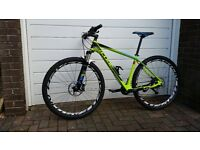 Cube Reaction GTC SL 29 carbon mtb Fox Shimano Deore XT 8000 Easton 19 inch 29er