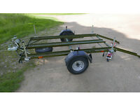 Motorcycle Trailer built for Ural / Cossack sidecar outfit