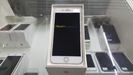 ~ WITH RECEIPT ~ Great Condition Apple iPhone 7 Plus 256GB Gold Unlocked-Fully Boxed