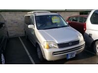 HONDA STEPWAGON, by Wellhouse 2.0L petrol, Automatic