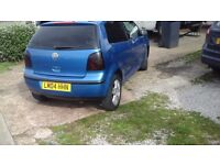 Vw polo e 1.2 73k genuine,2 owners from new had loads of work with receipts also full v5