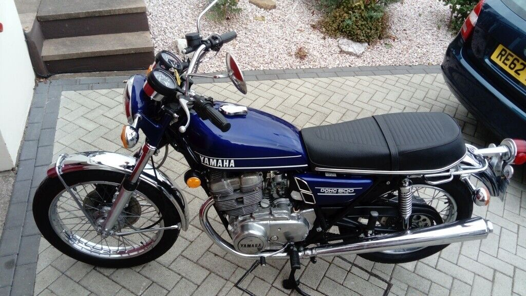 1973 Yamaha TX500 (like XS500 XS650) **Mot & Tax Exempt**Only 3k  Matching  no's 371-114546  Stunning | in Newton Abbot, Devon | Gumtree