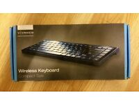 Vivanco Black Compact Wireless Keyboard With Mini USB Receiver