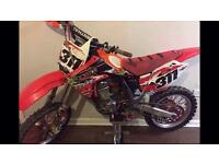 Crf 150r tricked up! Not kxf, yzf, ktm, Rmz, rm, us etc