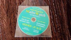 MATHS WATCH GCSE REVISION CD