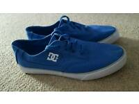 MENS/BOYS BLUE DC PUMPS.TRAINERS SHOES UK 6.5