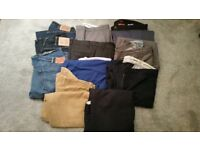 3 pairs of Levi 501's and more
