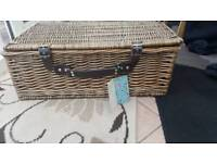Marks and Spencer Wicker Hamper( 4 person ) Near castlepoint