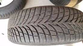 GoodYear Ultra Grip 7+ Tires (195/55 R16) for BMW 1 series in Good Condition