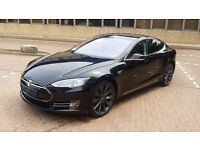 STUNNING BLACK TESLA MODEL S P85+ (Mileage 14,000) (LONDON)